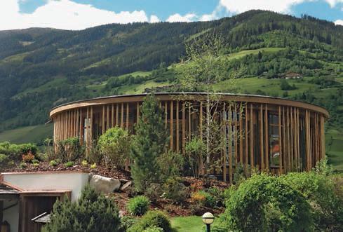Das Baumhaus Spa im österreichischen Bramberg.Foto: www.wanderhotel.at