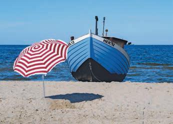 Mit rund 2000 Sonnenstunden im Jahr ist Usedom Deutschlands sonnigste Insel.